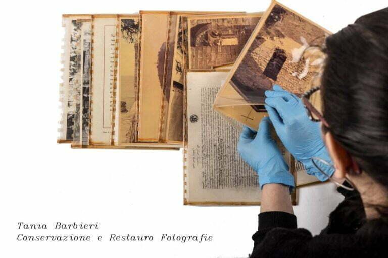 FOTOGRAFIE NEL TEMPO: DALLA STORIA AL COLLEZIONISMO, RESTAURO - Tania Barbieri
