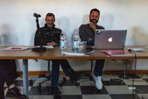 Gino D'Ugo e Andrea Luporini
